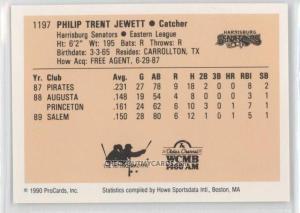 Trent Jewett 1990