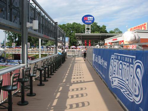 Metro Bank Park boardwalk