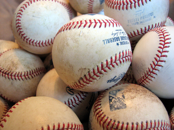 Eastern League baseballs