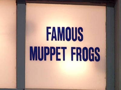 Famous Muppet Frogs