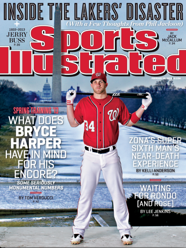 Sports Illustrated Bryce Harper