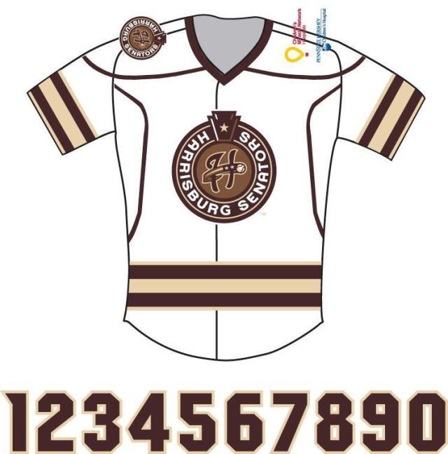 Harrisburg Senators - Hershey Bears jersey