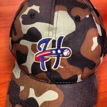 Harrisburg Senators Camo Hat