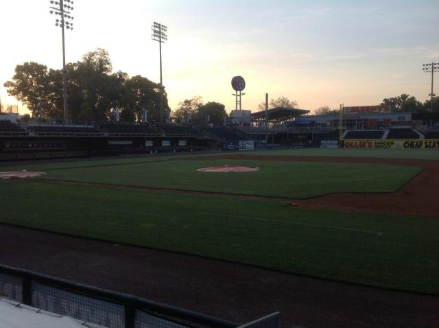 Metro Bank Park this morning at 6 AM Photo courtesy Terry Byrom