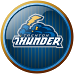 Trenton Thunder button