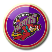 Akron Aeros button