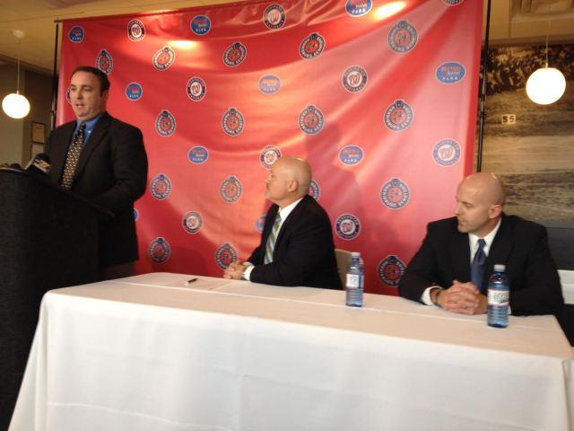 Kevin Kulp, Mike Rizzo, and Doug Harris
